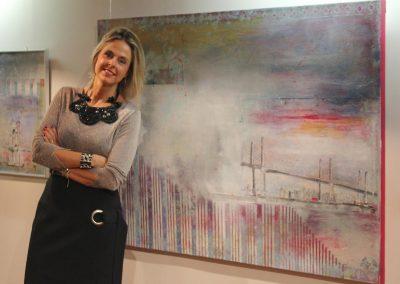 Exposición de arte de Marta Gómez